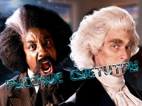 Русские Субтитры | Frederick Douglass vs Thomas Jefferson. ERB - Season 5