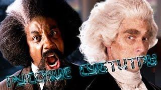 Русские Субтитры   Frederick Douglass vs Thomas Jefferson. ERB - Season 5