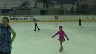 Трех-шажный ход вперед #Фигурное катание дети 4 года #Элементы фигурного катания #Figure skating
