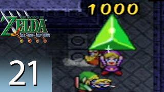 The Legend of Zelda: Four Swords Adventures - Episode 21: Temple of Darkness [Part 1]