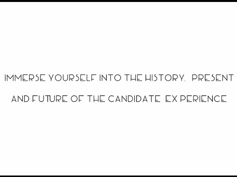 The Real Candidate Experience - Interview with Gerry Crispin