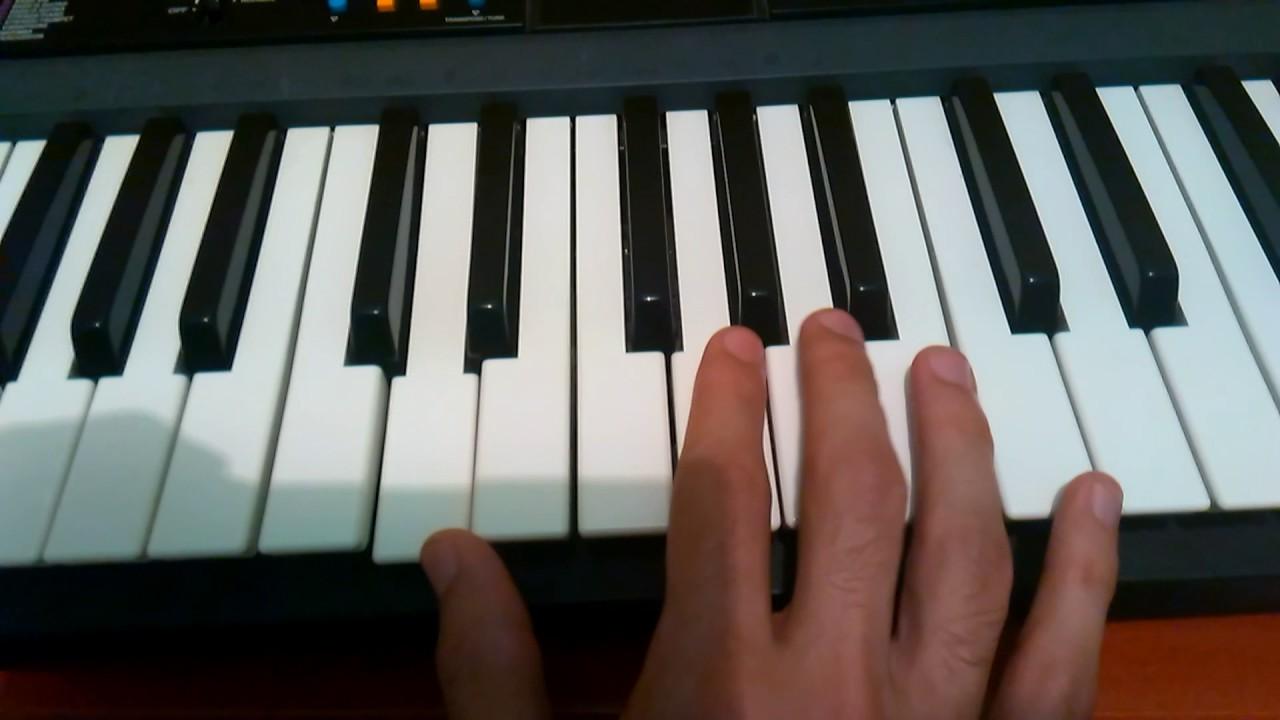 """Tutorial """"Que Seria De Mi"""" Melodia(G) Teclado."""