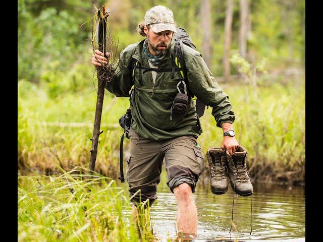 Alaska - Tommy und Felix mit Kanu und Schirm - outdoor-life-