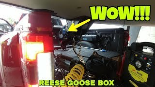 WHY a Reese GOOSEBOX and not a Fifth Wheel Pinbox!