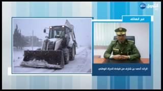 الدرك الوطني: حصيلة حوادث المرور وحالة شبكة الطرقات إثر تساقط الثلوج