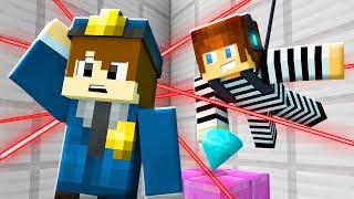 POLÍCIA E LADRÃO !! - Minecraft Prisão #1