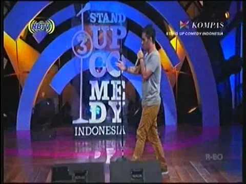 J FLOW Di Stand Up Comedy Indonesia 3 Edisi 3 Besar