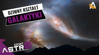 Droga Mleczna odkształca się na brzegach -  AstroShort