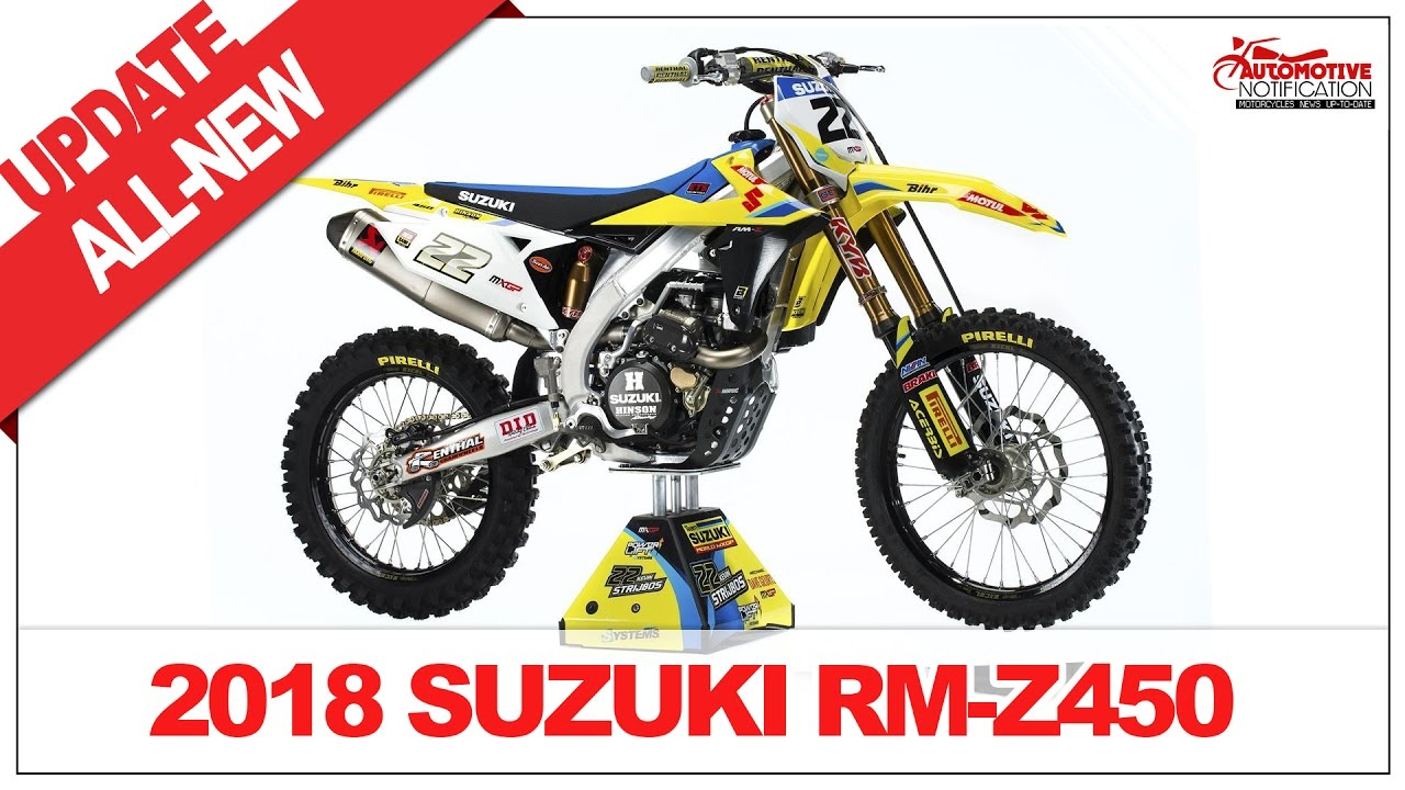 2018 suzuki rmz 250. perfect 250 2018 suzuki rmz 450 unveiled and suzuki rmz 250 k