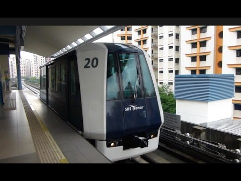 Singapore: Sengkang LRT (Light Rapid Transit), 04May15
