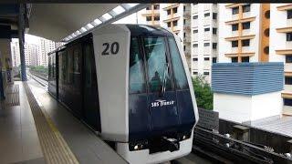 Singapore: Sengkang LRT (Light Rail Transit), 04May15
