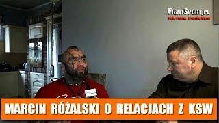 Marcin Różalski o relacjach z włodarzami KSW 2017 Video