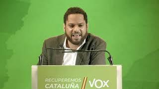 Espectacular cierre de campaña en Cataluña #SóloQuedaVOX