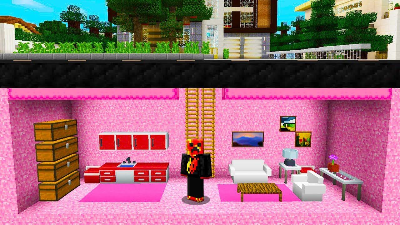 Preston Found My Girlfriend U2019s Secret Underground House   Minecraft