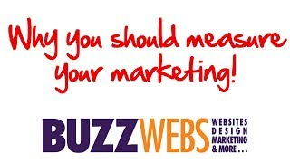 Why you should measure your marketing!