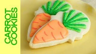 Easy Easter Carrot Cookies Tutorial