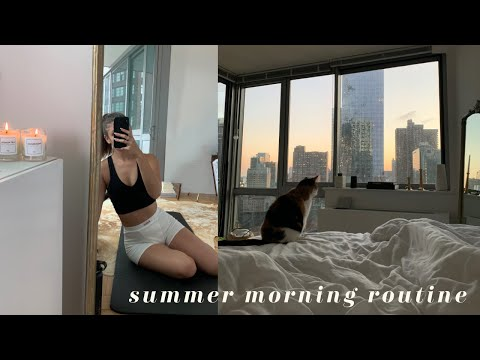My Summer Morning Routine 2020