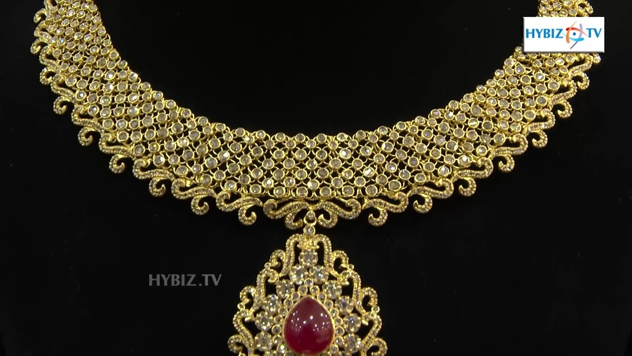 Uncut Diamond Necklace Design | Malabar Gold and Diamonds | hybiz ...