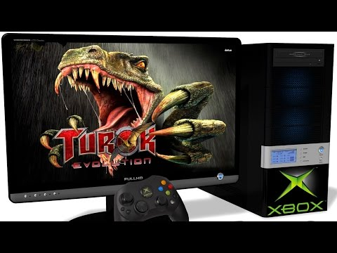 CXBX Reloaded [Xbox Original] - Turok: Evolution (2002). Ingame. Test #1