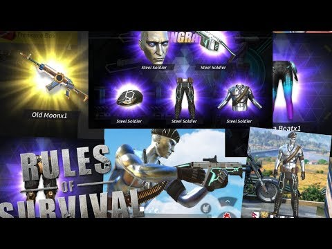 Buying new vector and an94 skin!!!Rules Of Survival New Update(ros)