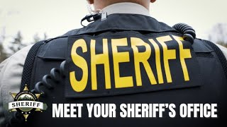 Meet Your Snohomish County Sheriff's Office