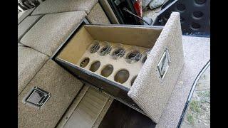 🥃 Изготовление и установка автомобильного спальника для Тойота Ленд Крузер 100 с баром