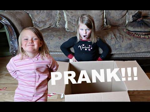 PRANKING OUR KIDS | EARLY BIRTHDAY PRESENT PRANK!!!