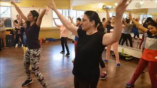 GANGLAND | MANKIRT AULAKH | BHANGRA DANCE FITNESS| SONA GYM N SPA MOHALI