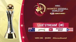 Australia v Puerto Rico - Placement Round - Women
