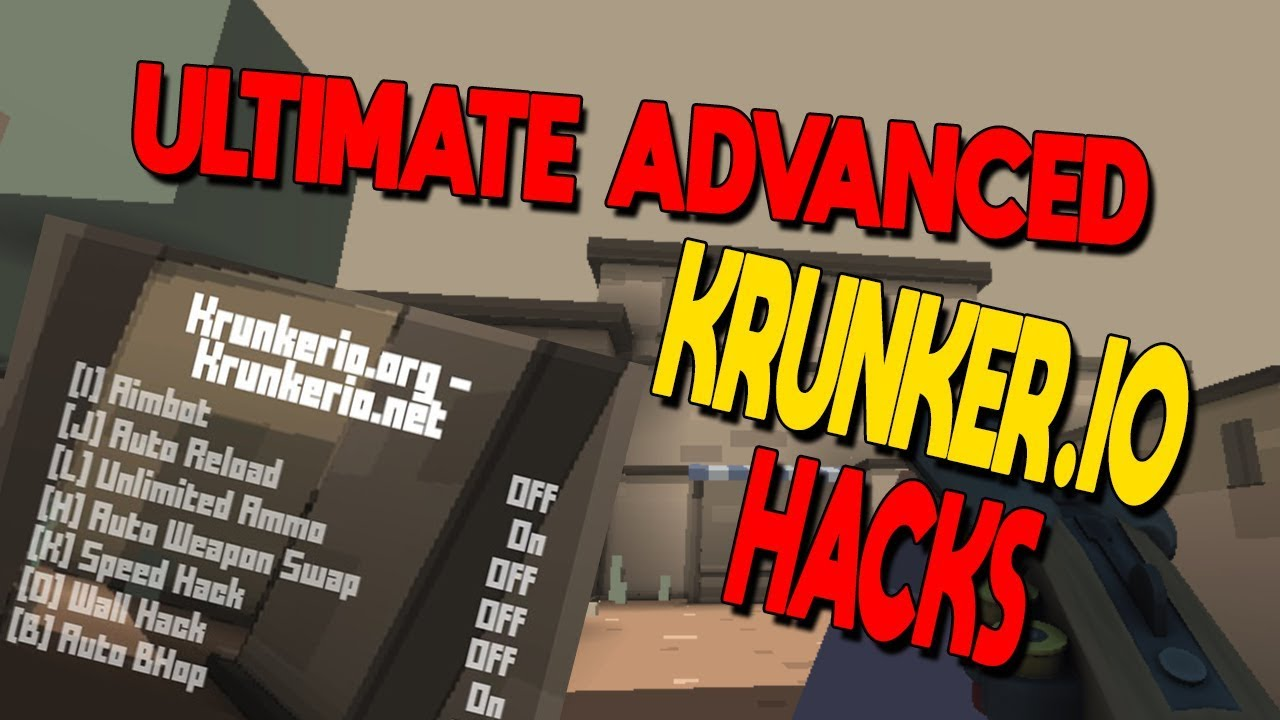 Ultimate Advanced Krunker io Hacks with AIMBOT/UNLIMITED AMMO/SPEED HACK