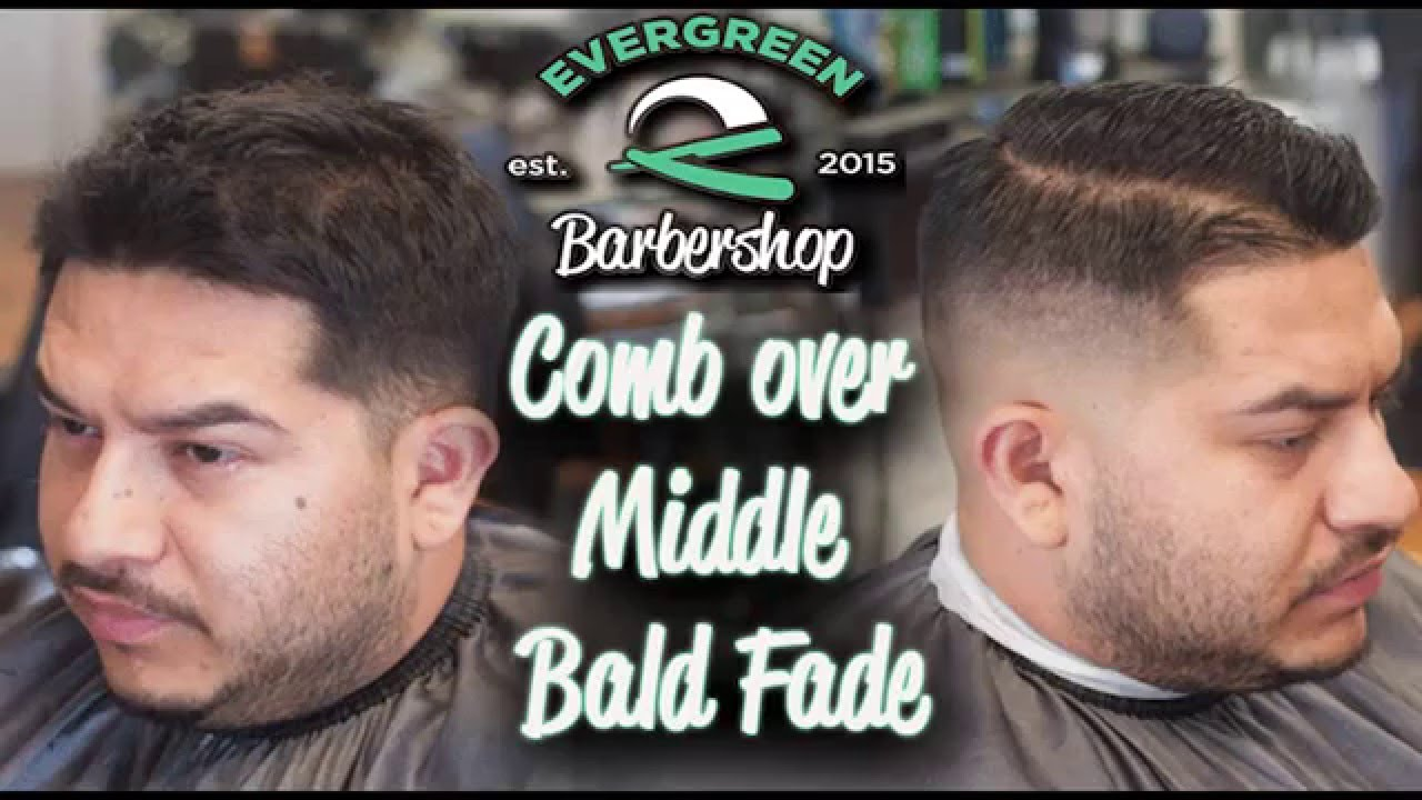 How To Mid Bald Fade Mens Haircut Comb Over Evergreen