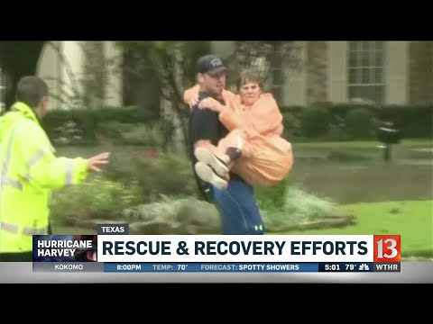 Rescue and recovery efforts continue in Texas