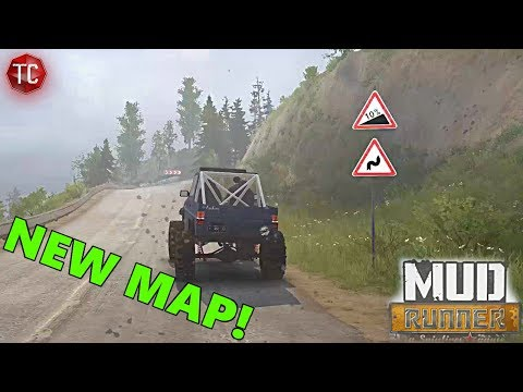 SpinTires MudRunner: La Luna2 - NEW MAP! Custom Buildings and MORE! w/ Download