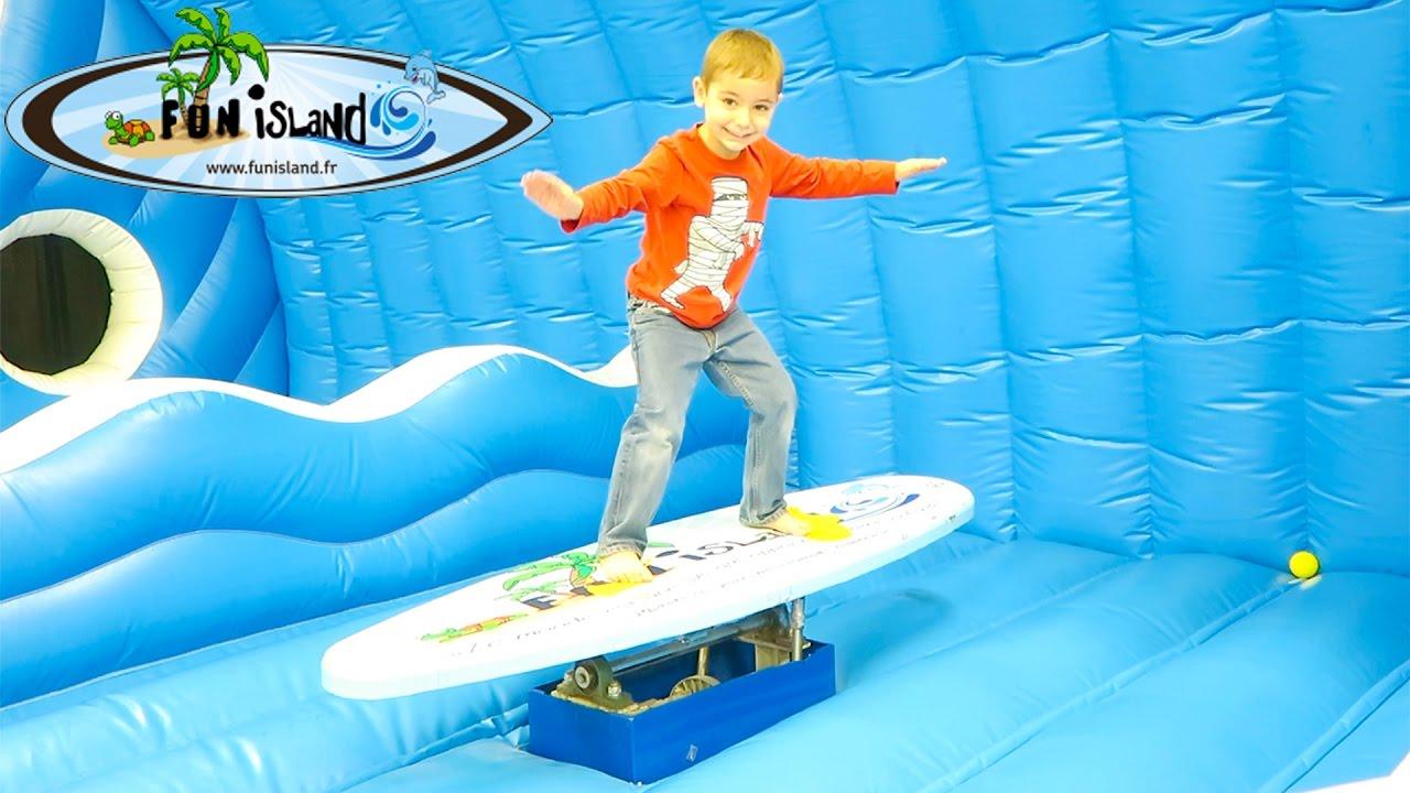 Vlog 100 fun fun island parc de jeux couv kau jo exy for Swan et neo piscine