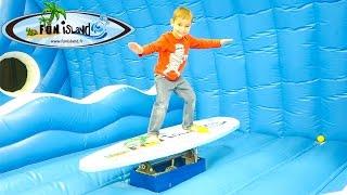VLOG - 100% FUN À FUN ISLAND  - Parc de Jeux Couvert pour Enfants