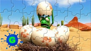 Oscars Oasis Super Puzzle Video Games For Kids-Best Cartoon Funny Animal Video