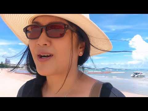 Pattaya Beach Today ทะเลพัทยาวันนี้ ทานข้าวเที่ยง S&P   OH's Life Vlog