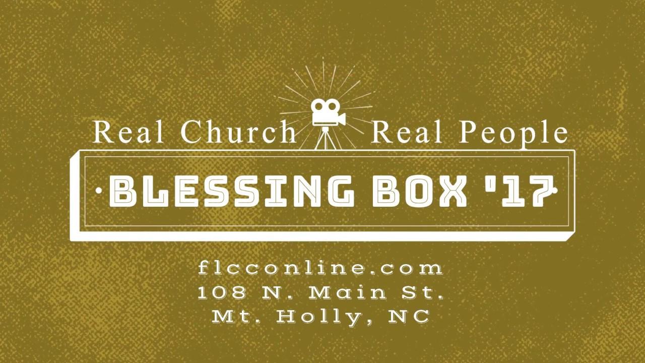 blessing box 2017 christmas dinner outreach - Christmas Dinner Blessings