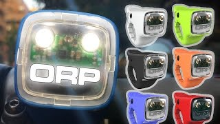 ORP - Electronic horn and light for bicycles!