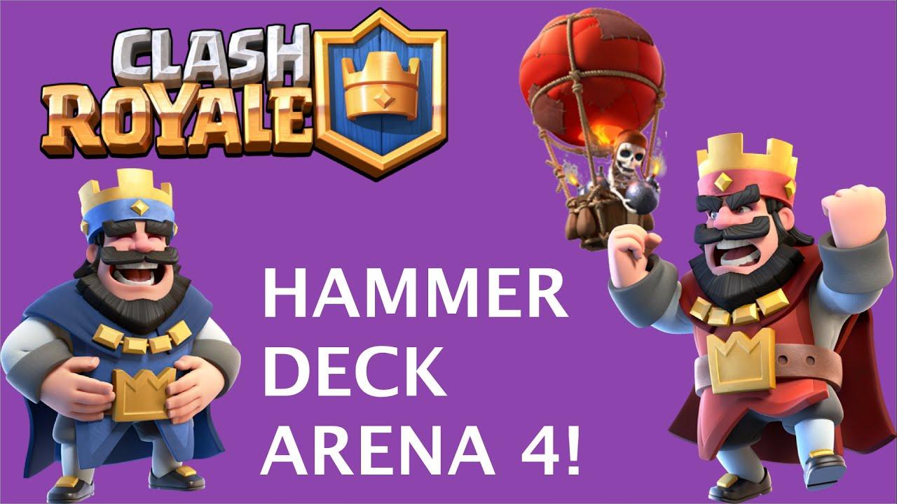 Clash Royale Deck Arena 4 Deutsch
