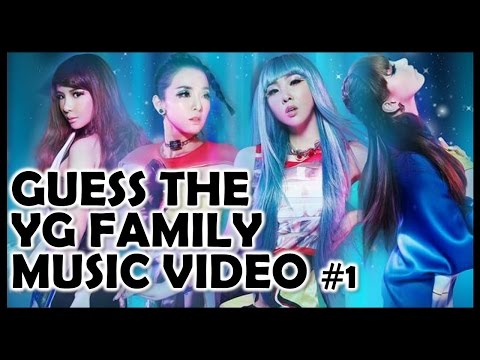 Kpop Quiz: Guess the YG Family Music Video #1