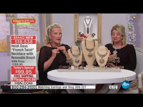 HSN | Heidi Daus Fashion Jewelry Gifts 11.01.2016 - 04 PM