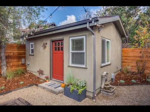 250 Sq Ft Backyard Tiny Guest House YouTube