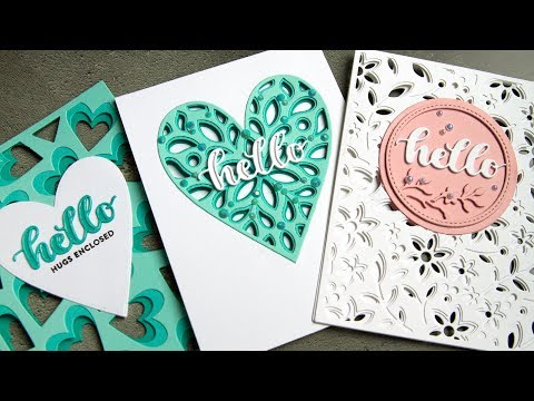 See-Through Die Cut Cards