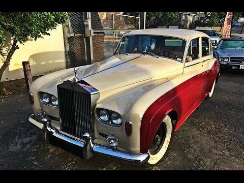 1965 Rollce Royce Silver Cloud III restoration