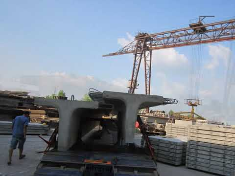 Перевозка ЖБИ Балки - длина 20 метров
