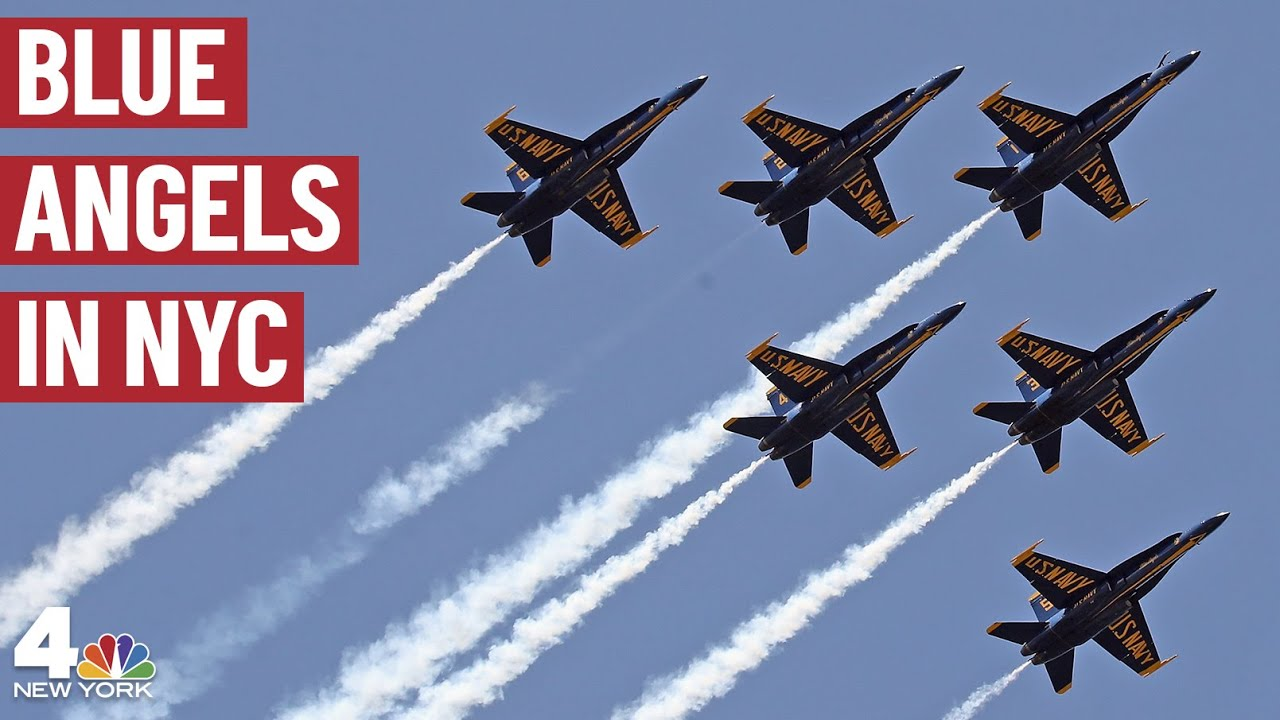 Blue Angels, Thunderbirds flying over U. S. cities, supporting for ...