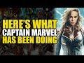 Avengers Endgame: Here's What Captain Marvel Has Been Doing