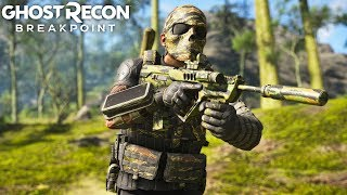 Ghost Recon Breakpoint LASER ACCURATE ASSAULT RIFLE! Ghost Recon Breakpoint Free Roam - Part 59
