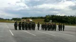 Latihan Kawad Formasi Rotu Upsi Batch 8 (Platun 2)